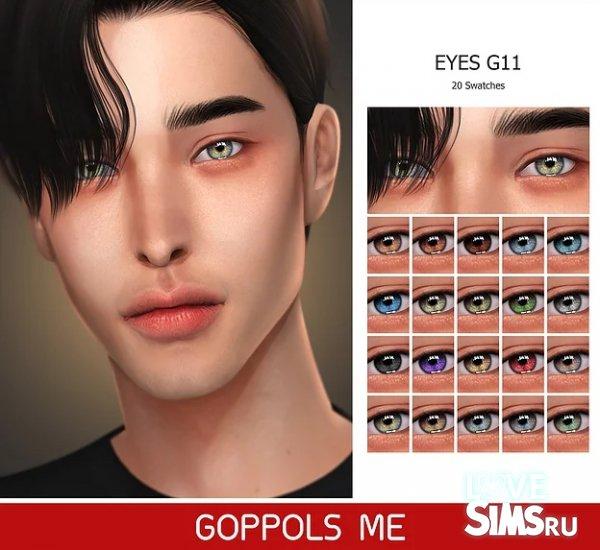 Глаза Gold Eyes G11