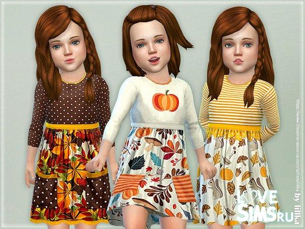 Детское платье P113 от lillka