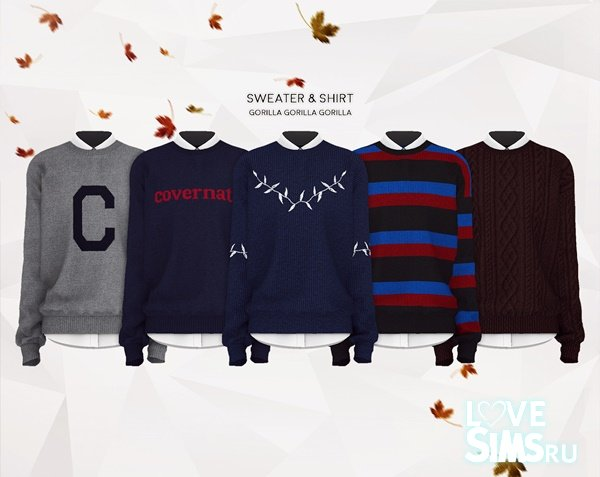 Sweater & Shirt от Gorilla X3