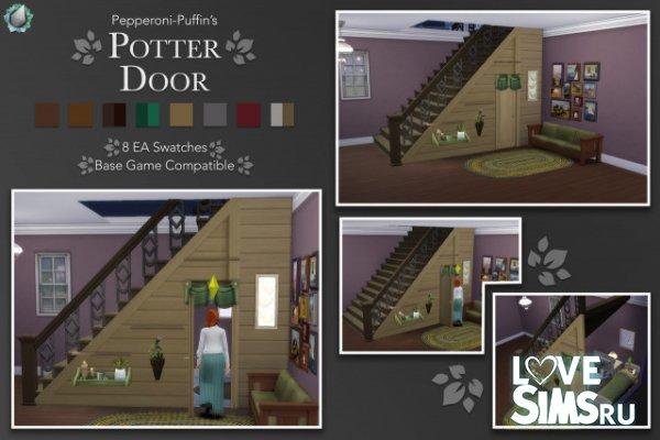 Дверь под лестницей от pepperoni-puffin