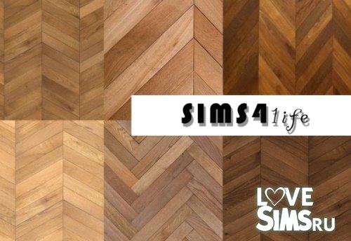 Деревянный пол от sims41ife
