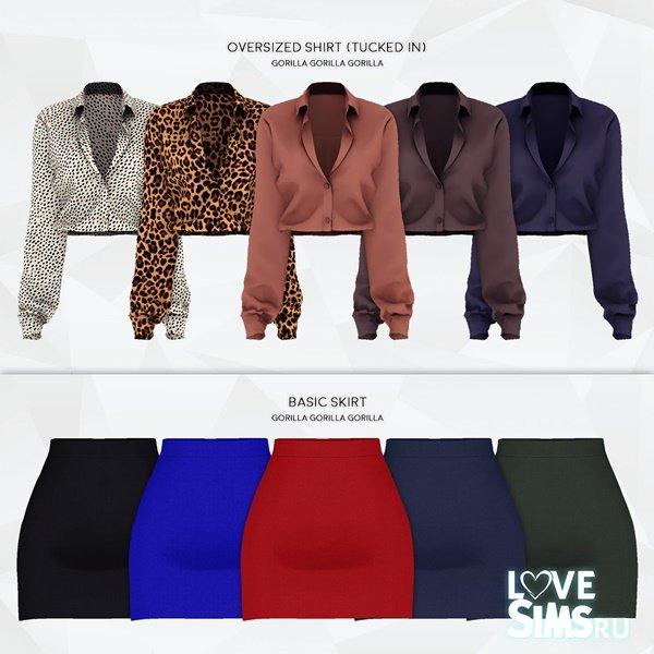 Блузка и юбка от Gorilla X3