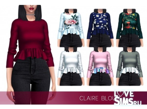 Блузка Claire от FrostSims