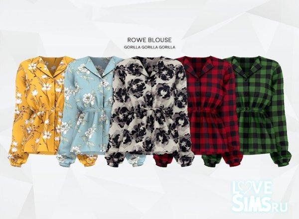 Блузка Rowe Blouse от Gorilla X3
