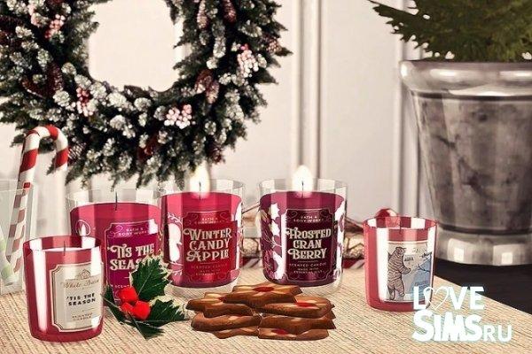 Свечи Winter Collection от Sooky