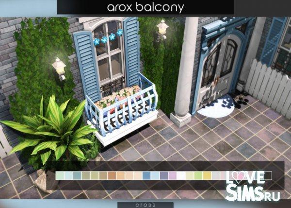 Балкон от Pralinesims