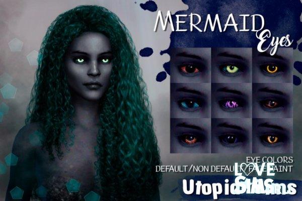 Линзы для русалок от Utopia Sims