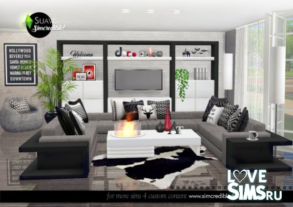 Гостиная Suavis living room от SIMcredible