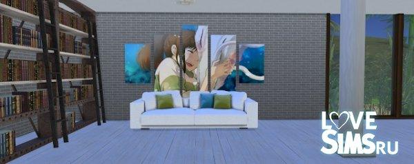 Картины Fan frames от simtographies