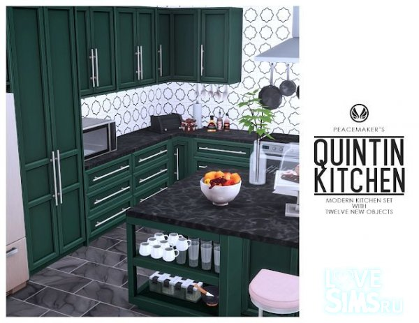 Кухня Quintin Kitchen от Peacemaker IC