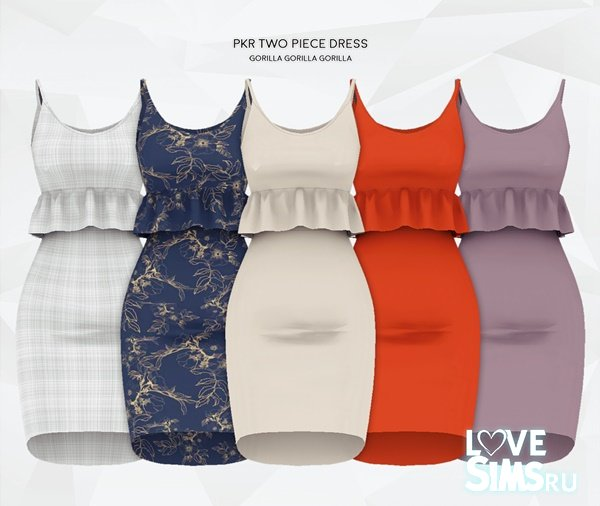 Платье PKR Two Piece Dress