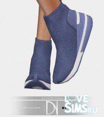Кроссовки sneaker booties от darknightt