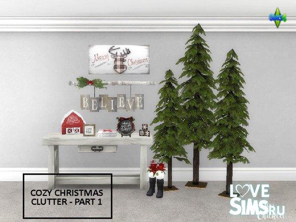 Мебель Cozy Christmas Clutter
