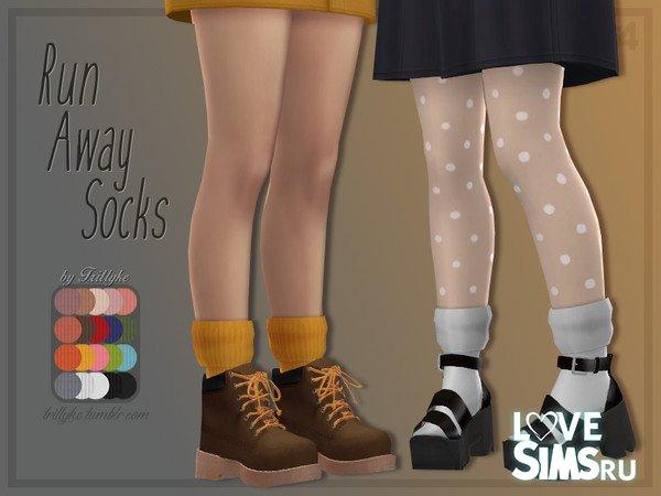 Носки Run Away Socks от Trillyke