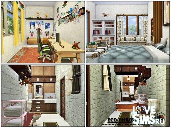 Дом Eco Christmas от Danuta720