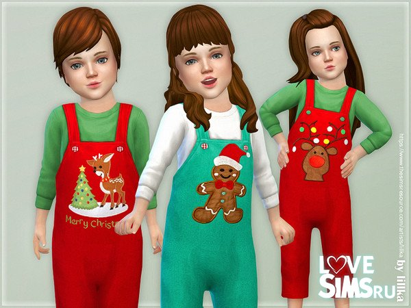 Детский комбинезон Christmas