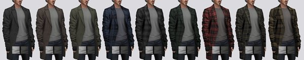 Мужское пальто Wool Overcoat