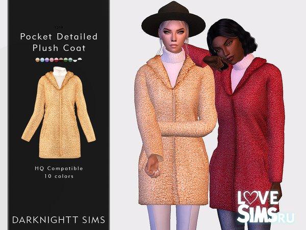 Пальто Pocket Detailed Plush Coat