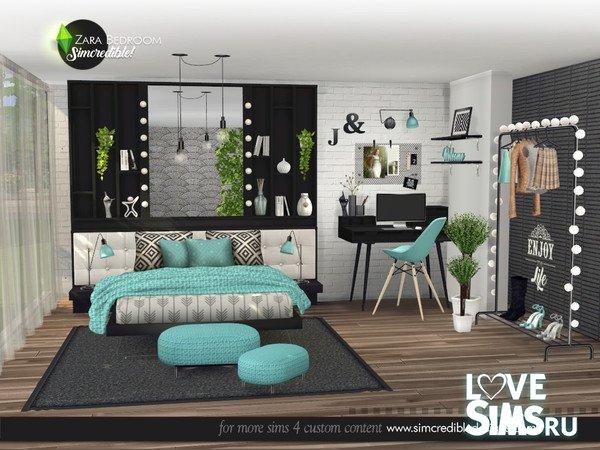 Спальня Zara от SIMcredible
