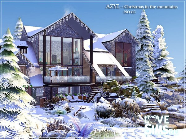 Дом Christmas in the mountains