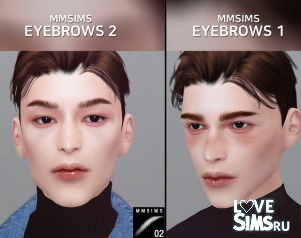 Брови Eyebrows 1, 2 от MMSIMS