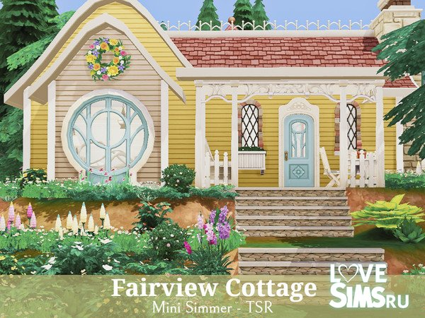 Дом Fairview Cottage от Mini Simmer