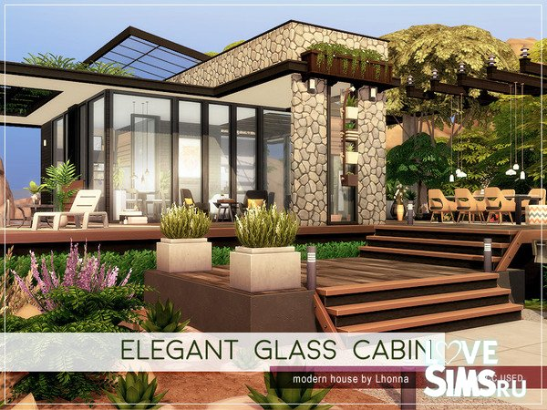 Дом Elegant Glass Cabin
