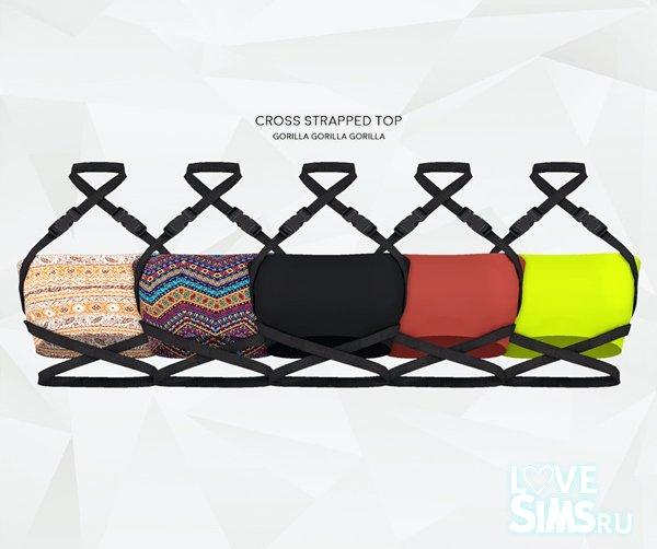 Топ Cross Strapped Top