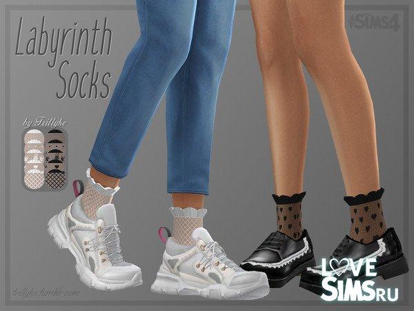 Носки Labyrinth Socks от Trillyke