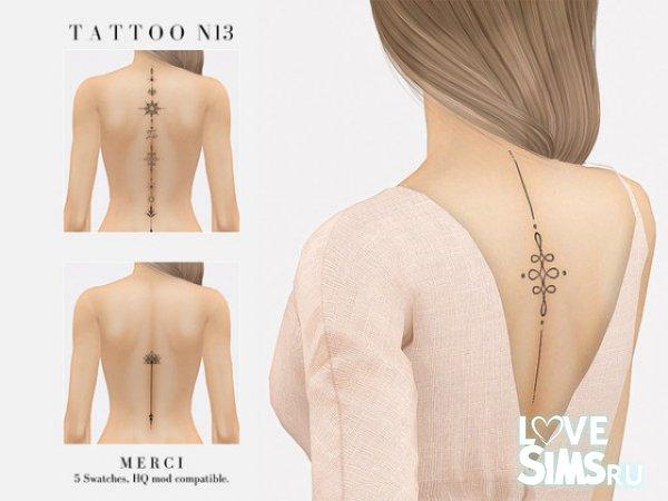 Tattoo N13 от -Merci-