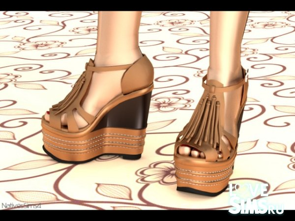 Босоножки Wedges 02 от Natives