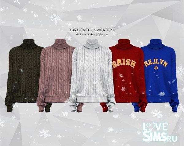 Свитер Turtleneck Sweater II