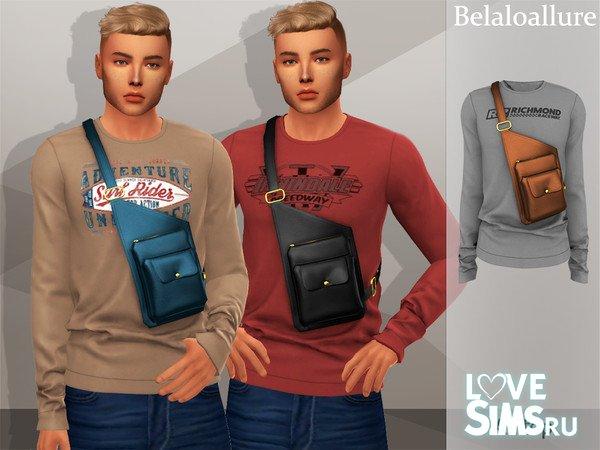 Мужской свитер с сумкой от belal1997