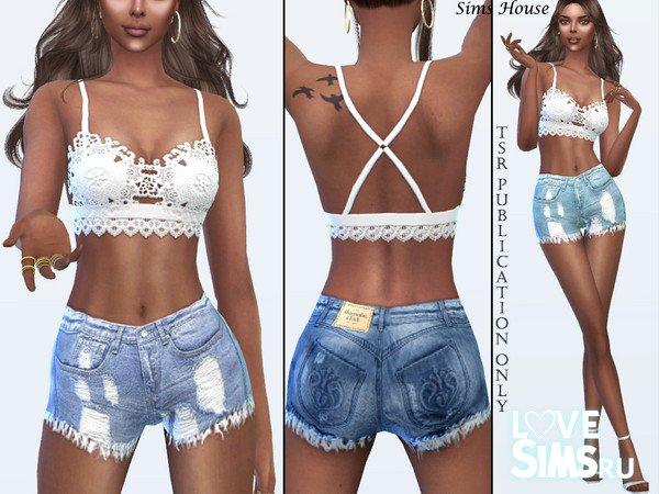 Шорты Denim Shabby Shorts
