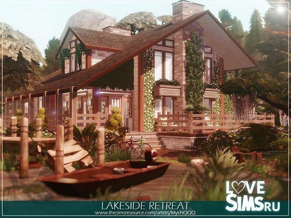 Дом Lakeside Retreat от MychQQQ