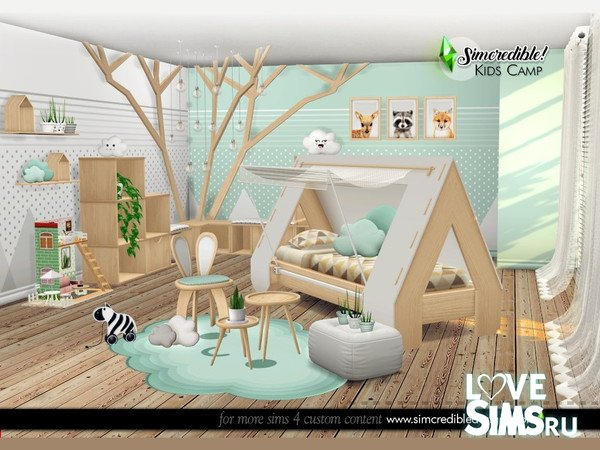 Мебель Kids Camping от SIMcredible