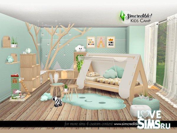 Мебель Kids Camping от SIMcredible
