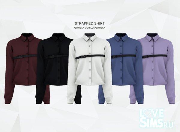Рубашка Strapped Shirt