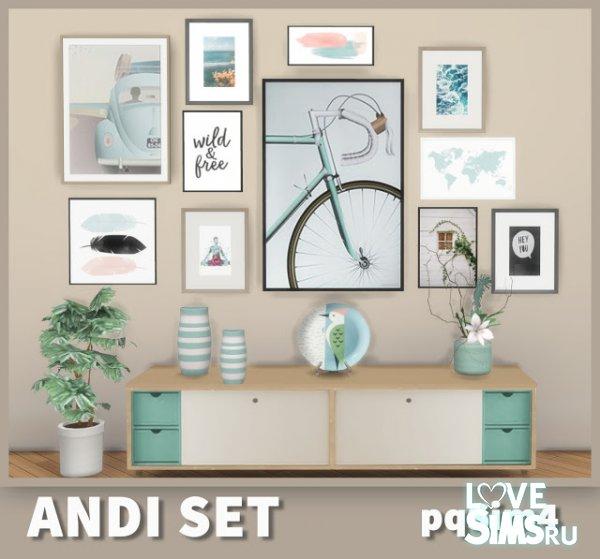Декор Andi Set от PQSIMS4