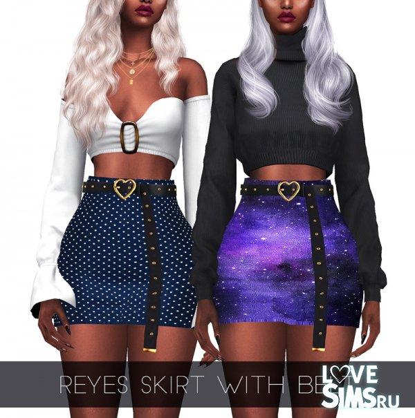 Юбка Reyes skirt with belt