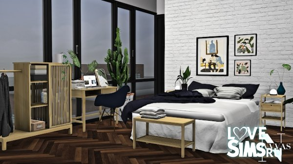 Спальня IKEA NORDKISA SERIES