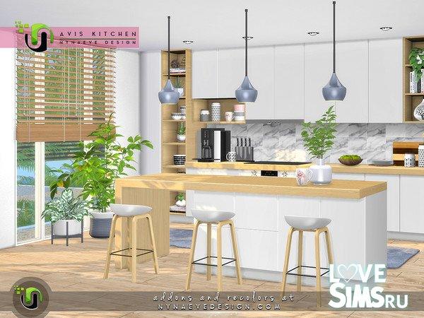 Кухня Avis Kitchen от NynaeveDesign