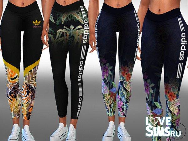 Леггинсы Adidas New Style Athletic