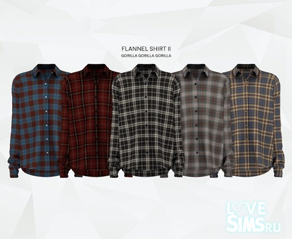 Рубашка Flannel Shirt II