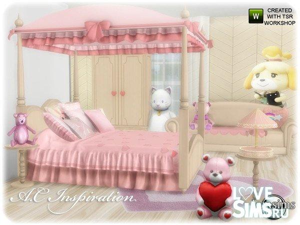 Спальня AC inspiration set Bedroom