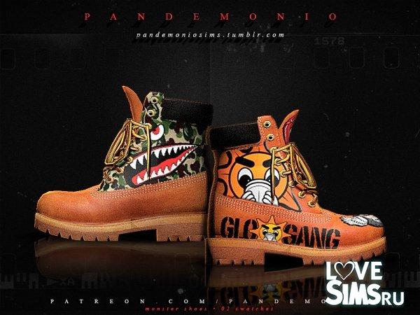 Ботинки Monster от Pandemiosims