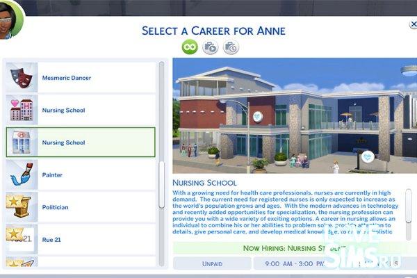 Карьера медсестры от MesmericSimmer
