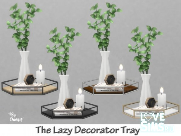 Декор The Lazy Decorator Tray