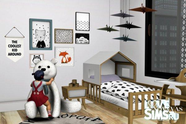 Детская SAFARI TODDLER BEDROOM