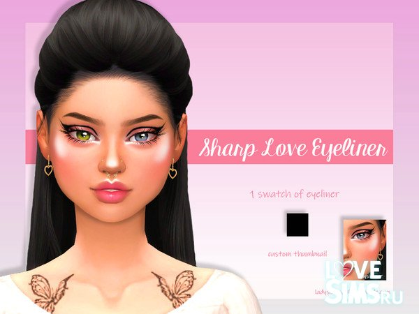 Подводка Sharp Love Eyeliner